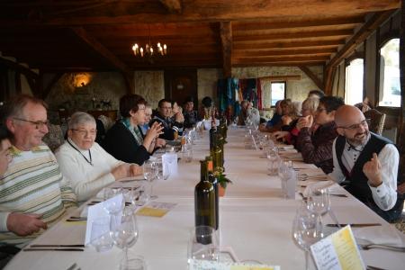 repas du nouvel an de la délégation 32